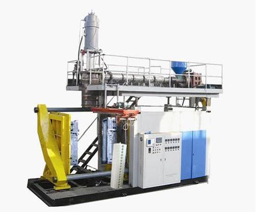 Solar liner dedicated blow molding machine